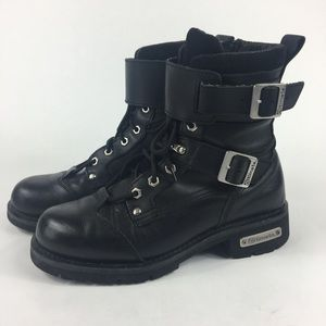 "ALTIMATE ""NYC"" MOTORCYCLE  BOOTS SIZE 11"